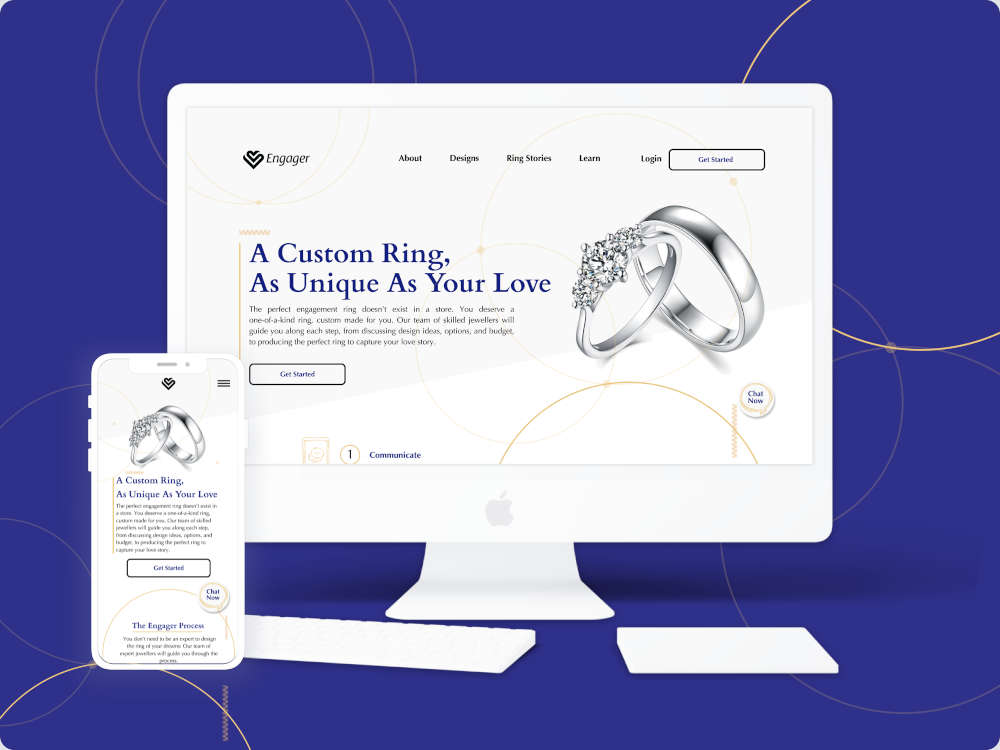 Engager Rings: custom engagement rings